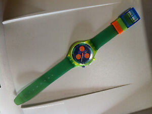 Vintage-Chrono-Swatch-Watch