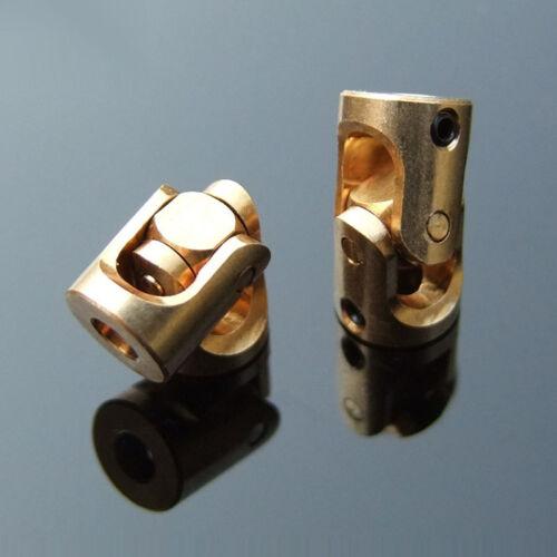 Vis Laiton Voiture Modèle accouplement d/'arbre moteur connecteur 3mm-3mm Joint Universel