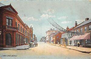 A84-Salem-Ohio-Postcard-1909-E-Main-Street-Stores-Wagon-Horses