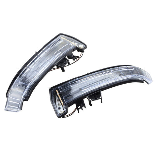 1 Pair Mirror LED Indicator Turn Signal Light For Mercedes Benz W204 W212 W164
