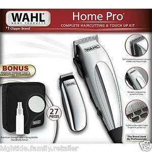 wahl chrome pro complete haircutting kit wahl home pro professional 27 complete haircutting 5119