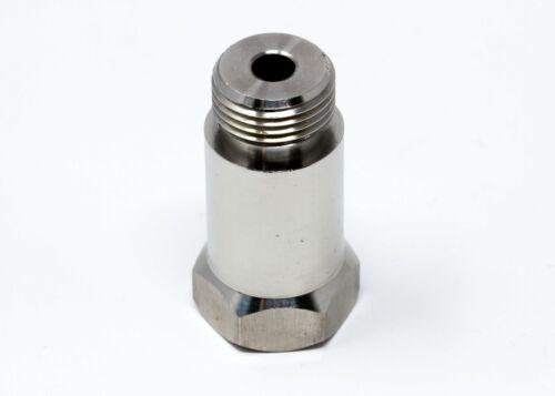 O2 Sensor CARX CEL Check Engine Light Eliminator Adapter STAINLESS STEEL