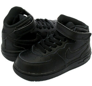 nike air force 1 noir garcon