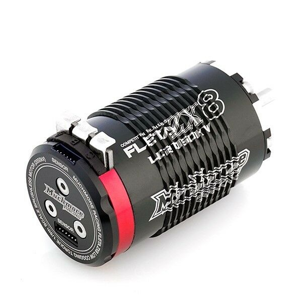 Much-More FLETA ZX8 Low Cogging Torque 1/8th Scale Brushless Motor  2050kV