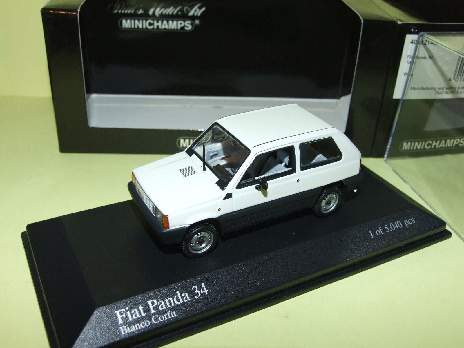 FIAT PANDA 34 1980 Blanc MINICHAMPS 1 43