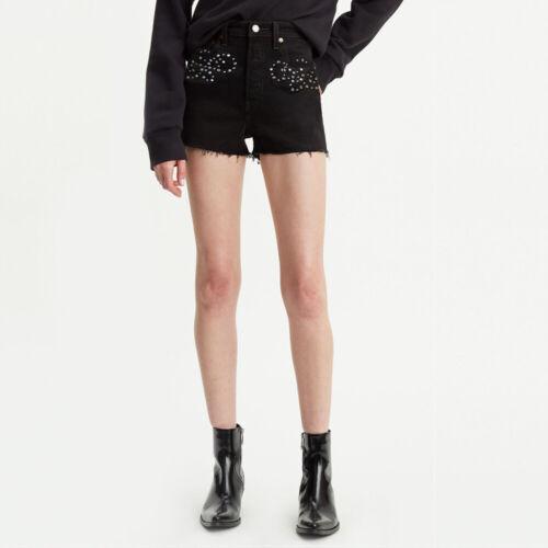Authentic BRAND NEW 778790003 LEVI/'S PREMIUM RIBCAGE Shorts Women/'s