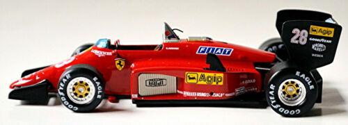 FERRARI 156//85 #28 RENE ARNOUX formula 1 BRAZIL GP 1985 1:43 Ferrari Collection