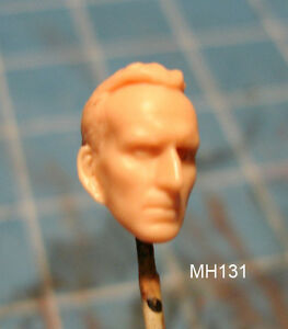 """MH045 Custom Cast Sculpt part Male head cast for use with 3.75/"""" action figures"""