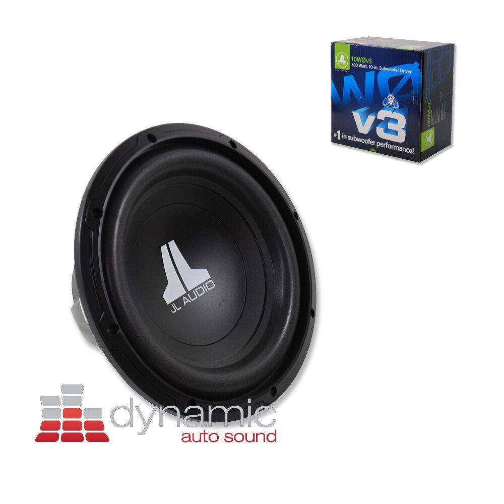 jl audio 10w0v3 4 1 way 10in car subwoofer ebay rh ebay com