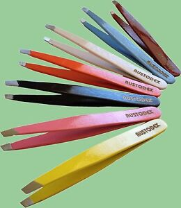 High-quality-hair-removing-plucking-stainless-steel-slant-tip-eyebrow-tweezers