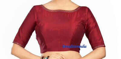 Stitched Indian Blouse for Women Size 38 Free Shipping Readymade Designer Saree Blouse Sari Blouse