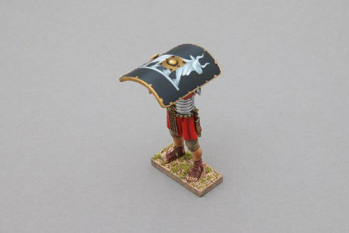THOMAS GUNN ROM067C - Roman Testudo Shield above Head (9th Legion)