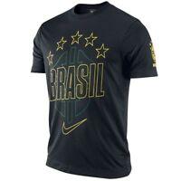 Nike Brazil - Brasil World Cup Wc 2014 Soccer Stars Core Fan Shirt Black