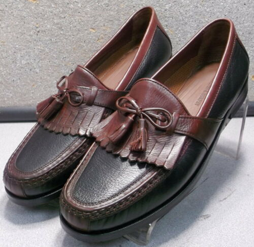 200592 WT50 Men/'s Shoes Size 14 M Black//Tan Leather Johnston Murphy Walk Test