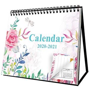 Small Flip Standing Desk Calendar 2020