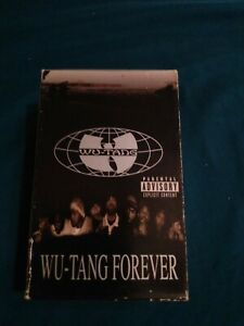Wu-Tang-Clan-Cassette-Wu-Tang-Forever-Audio-Tape-Cassettes-One-amp-Two-C22-2