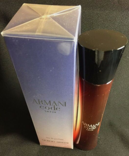 Armani Code Satin by Giorgio Armani Eau De Parfum Spray 2.5 oz/75ML.