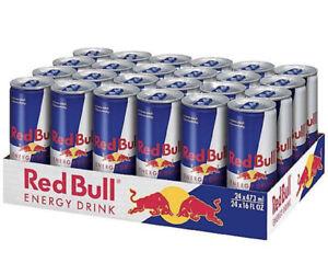 Red-Bull-24-Dosen-OVP-0-25-L-250-ml-mit-Pfand-MHD-09-2019-Original-Verschweisst