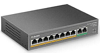 10 Port POE Plus Switch (Gigabit bandwidth)