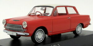 Minichamps-1-43-Scale-400-082002-1962-Ford-Cortina-Mk1-Red-White-Roof