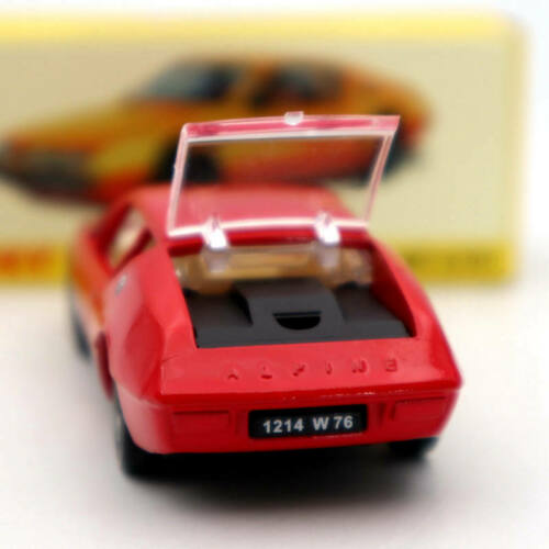 Atlas 1//43 Dinky toys 1411 ALPINE RENAULT A310 Red Diecast Models Collection