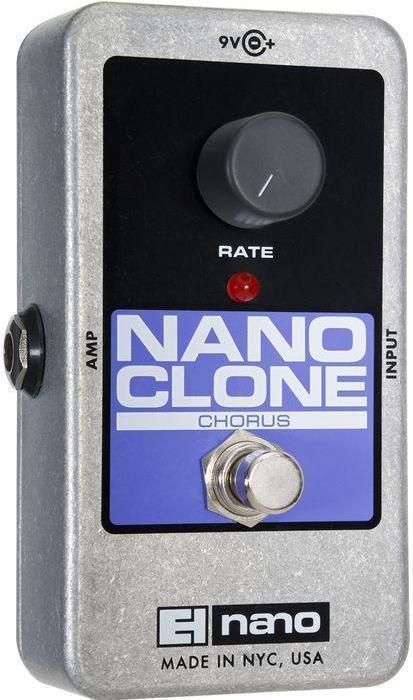 Electro-Harmonix Nano Clone Analog Chorus Chorus Chorus Pedal 4446eb