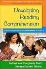 Developing Reading Comprehension: Effective Instruction for All Students in Prek-2 by Katherine A. Dougherty Stahl, Georgia Earnest Garcia (Hardback, 2015)