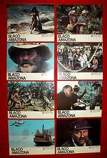 TREASURE OF THE AMAZON 1985 STUART WHITMAN D. PLEASENCE UNIQUE EXYU LOBBY CARDS