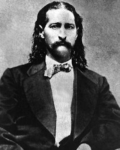 1873 Old West Hero WILD BILL HICKOK Vintage 8x10 Photo Glossy Print Lawman