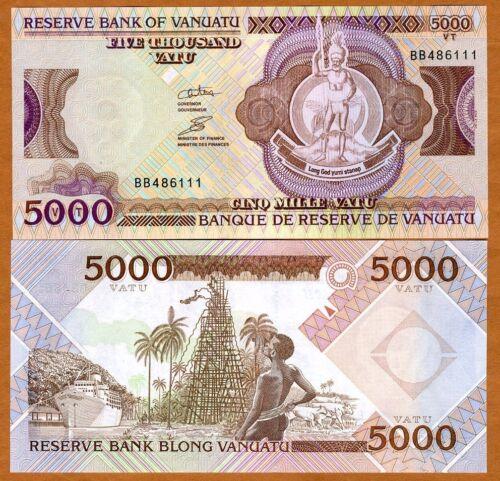 Vanuatu 2006 5,000 Vatu P-12 5000 UNC