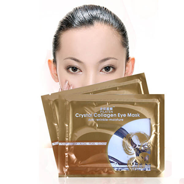 7X Pair Anti-Wrinkle Dark Circle Gel Collagen Under Eye Patches Pad Mask Bag DAz