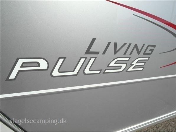Hymer Living Pulse 530 LE, 2008, kg egenvægt 1200