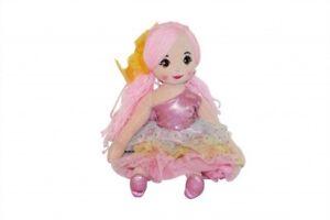 Rag-Doll-45cm-Beatrice-Princess-long-pink-hair-cuddly-take-along-fun