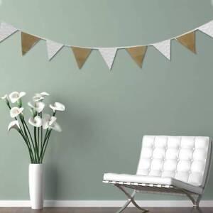 Hessian-Bunting-banniere-de-mariage-drapeaux-burlap-anniversaire-decor-maison
