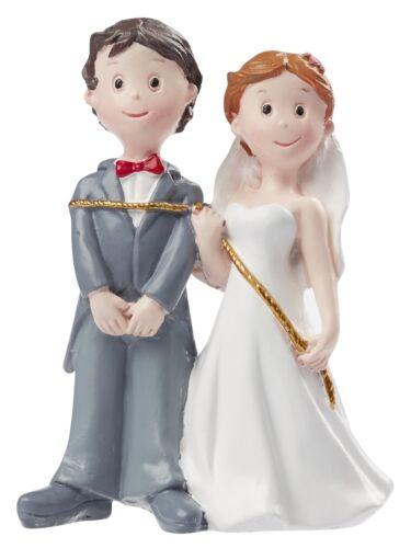 nuevo * 3870442 bodas par con cuerda Dekofigur tortendeko