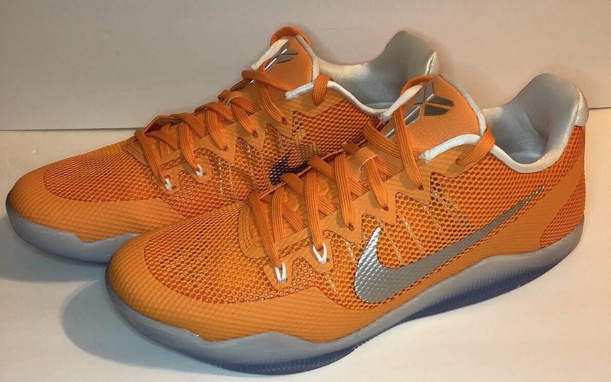 Nike kobe promo xi tb 11 promo kobe - orange silber 856485 881 mens basketball - schuh. 53ebf9