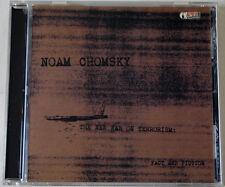 NOAM CHOMSKY / THE NEW WAR ON TERRORISM / FACT & FICTION / SPOKEN WORD CD 2001