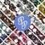 6mm-Rhinestone-Gem-20-Colors-Flatback-Nail-Art-Crystal-Resin-Bead thumbnail 1