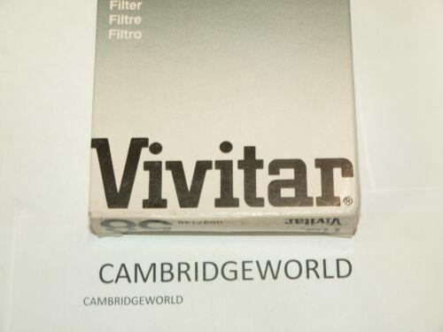 VIVITAR 52mm   UV HAZE ULTRA VIOLET  SCREW in OPTICAL GLASS FILTER MADE in JAPAN