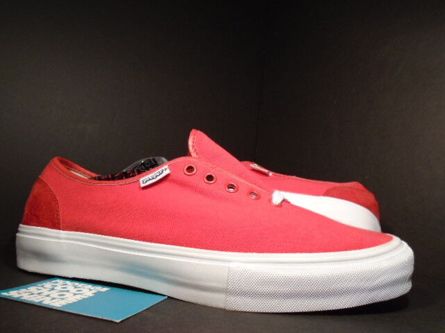 2009 VANS AUTHENTIC ERA LX PROPER MARS Rouge Blanc Noir SUPREME VN -0 eftwz 9 10.5