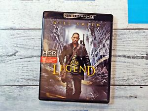 I Am Legend [New 4K UHD Blu-ray] 4K Mastering, UV/HD Digital Copy, 2 Pack Rare