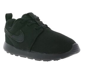 new arrival 6363f 16ebe NEW NIKE ROSHE ONE INFANT TODDLER BLACK BLACK ORIGINAL ...