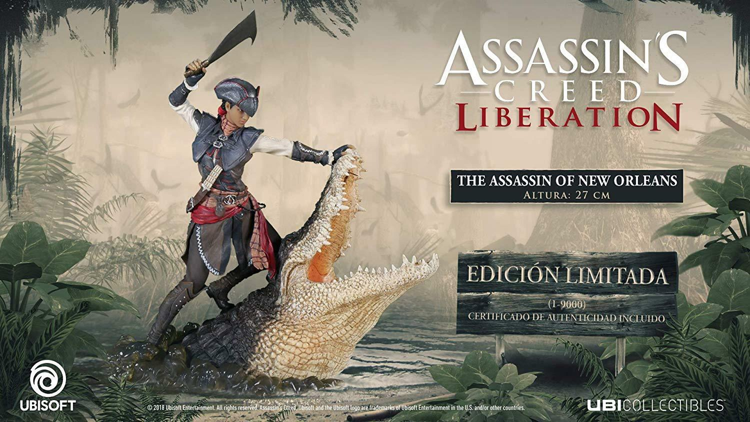 ACTION FIGURE Assassin's creed Liberation  The Assassin of New Orleans - LIMITED