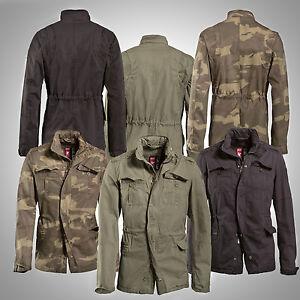 surplus herren feldjacke delta britannia trooper parka mantel armee jacke m65 ebay. Black Bedroom Furniture Sets. Home Design Ideas