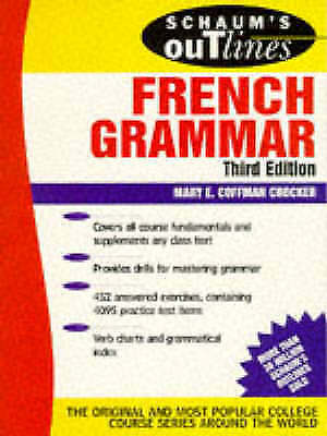 Schaum's Outline of French Grammar by Crocker, Mary