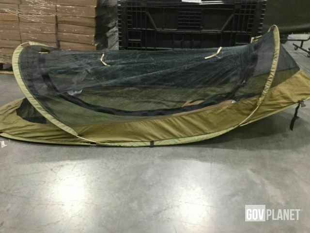 NEW GI Iguana BedNet 86  Self Supporting Supporting Supporting Pop Up Tent w  Storage Pouch Coyote 4fb66c