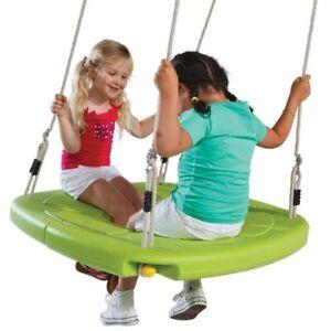 Nestschaukel Doppelsitzschaukel Squaro, Schaukelsitz für 2 Kinder