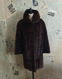1950 S Griffin And Spalding Fur Coat Vintage Mink Fur Coat Ebay