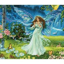 Counted Cross Stitch Kit SPRING FAIRY Dimensions Gold Collection NEW RELEASE!