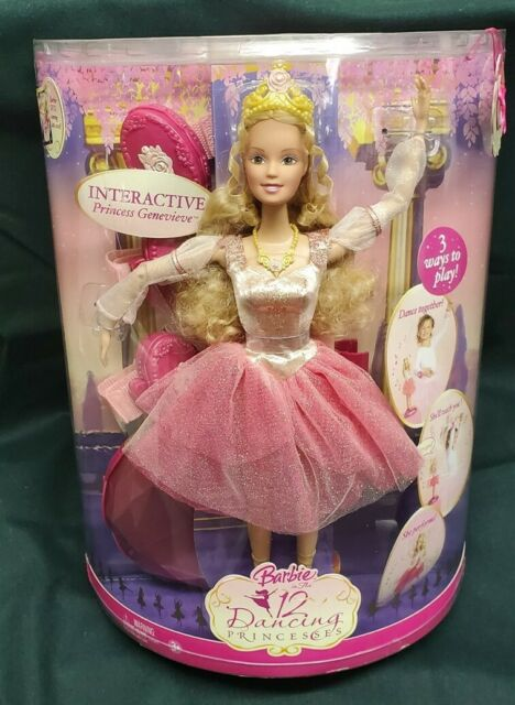 Barbie In The 12 Dancing Princess Genevieve Doll Ballerina Ballet